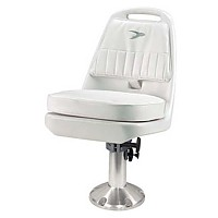 [해외]WISE SEATING Chair Pilot Spider Adjustable White