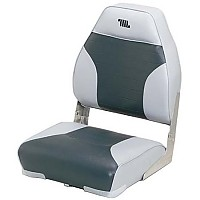 [해외]WISE SEATING High Back Boat Seat Grey / Charcoal