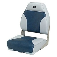 [해외]WISE SEATING High Back Boat Seat Grey / Navy