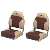 [해외]WISE SEATING High Back Boat Seat Sand / Brown