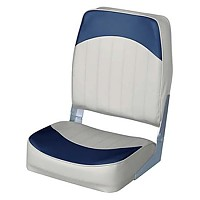 [해외]WISE SEATING Economy High Back Fold Down Fishing Chair Grey / Navy