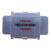 [해외]BEST DIVERS Transparent Deck For Travel Case TRANSPARENT