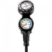 [해외]CRESSI 2 Elemments Miniconsole Pressure Gauge/Compass