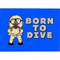 [해외]KRUSKIS Puzzle 24 Pcs Born To Dive