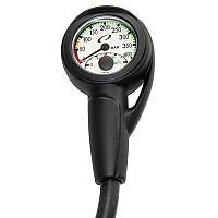 [해외]OCEANIC Slimline Pro Pressure Gauge Module with Hose & Boot with Hose & Boot