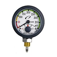[해외]OCEANIC Slimline Pro Manometer Module 400 Bar for Console