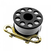[해외]SCUBAPRO Mini Reel Large with Rope and Brass Hook