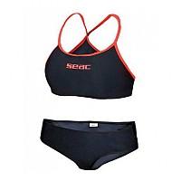 [해외]SEACSUB Bikini Black / Red