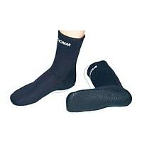 [해외]TECNOMAR Sock Double Lined 5 mm with Sole Black