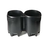[해외]TECNOMAR Tank Boot for Twin Cylinder 2x5L and 2x7L Black