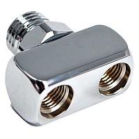 [해외]XS SCUBA Splitter Hose LP 9/16 to 2 Female Adapter