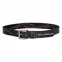 [해외]PEPE JEANS Logo Belt Blue Black