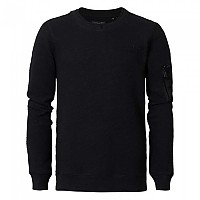 [해외]PETROL INDUSTRIES Sweater R-Neck Black