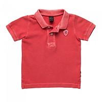 [해외]리플레이 Garment Dyed Cotton Piquet Baby Boy Coral Red