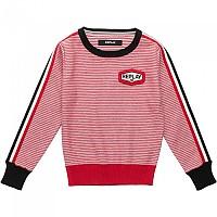 [해외]리플레이 Cotton 12 Gg Girl White / Red Stripes