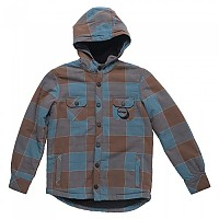 [해외]립컬 Overshirt Heavy Flanel Chocolate Brown