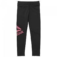 [해외]리복 Workout Ready Polyester Big Logo Leggin Black