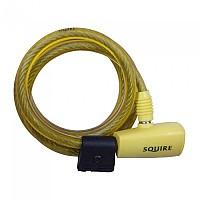 [해외]SQUIRE 116 Cable Lock Yellow