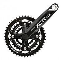 [해외]SR Suntour Chain Wheel CW14 XCR6 T Black / 44/32/22 Teeth