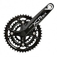 [해외]SR Suntour Chain Wheel CW14 XCR6 T Black / 48/36/26 Teeth