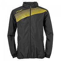 [해외]UHLSPORT Liga 2.0 Rain Jacket Black / Lime Yellow