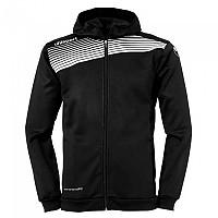 [해외]UHLSPORT Liga 2.0 Hooded Jacket Black / White