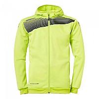[해외]UHLSPORT Liga 2.0 Hooded Jacket Flash Green / Black