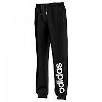 [해외]아디다스 Essentials Linear Brushed Pants Boy black / white