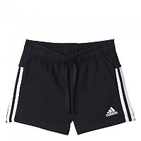 [해외]아디다스 Essentialas 3 Stripes Short Pants Black / White