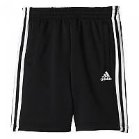 [해외]아디다스 Essentials 3 Stripes Knitted Short Pants Black