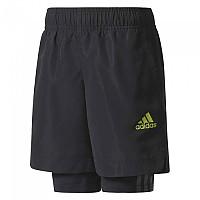 [해외]아디다스 Training Shorts Black / Black / Semi Solar Yellow
