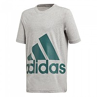 [해외]아디다스 Big Logo Medium Grey Heather / Noble Green