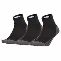[해외]나이키 Everyday Ligthweight Ankle Max 3 Pair Black / White