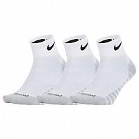 [해외]나이키 Everyday Lightweight Ankle Max 3 Pair White / Black
