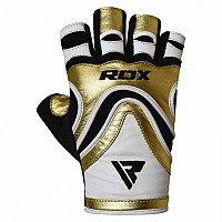 [해외]RDX SPORTS Gym Glove Paper Leather S9 Golden