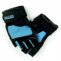 [해외]SALTER Spandex Leather Gloves Blue / Black
