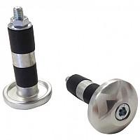 [해외]MOTS Handlebar End Plug Set Silver