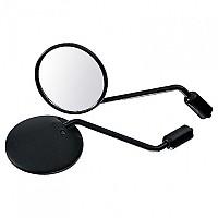 [해외]POLO Handlebar Mirror 18 Round M10x1.25 Right Thread Black
