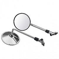 [해외]POLO Handlebar Mounted Mirror 15 Chrome For Bandit