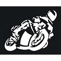 [해외]POLO Rider Sticker Small White
