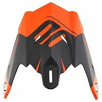 [해외]SHOT Visor For Helmet Striker Exod Orange Fluo Matt
