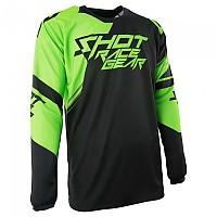 [해외]SHOT Claw Jersey Green Fluo