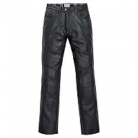 [해외]SPIRIT MOTORS Leather Jeans 1 0 Black