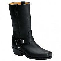 [해외]SPIRIT MOTORS Classic Leather Boots 1 0 Black