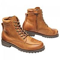 [해외]SPIRIT MOTORS Urban Leather Boots 3 0 With Zipper Brown