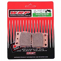 [해외]WRP F4 Off Road Front/Rear Brake Pads