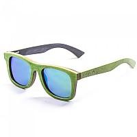 [해외]LENOIR 아이웨어 Sk8 Skate Wood Green With Revo Green Lens