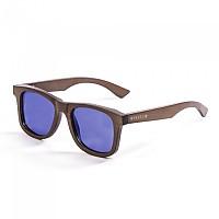 [해외]LENOIR 아이웨어 Pure Bamboo Dark Brown With Revo Blue Polarize Lens