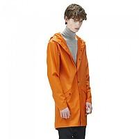 [해외]RAINS Long Jacket Fire Orange