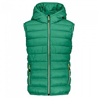 [해외]CMP Boy Vest Zip Hood Emerald